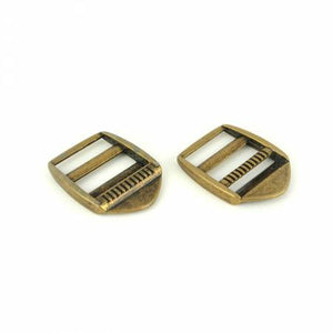 Ladder Lock Slider Buckles by Sallie Tomato, Hardware, Sallie Tomato, Antique Brass - Mad About Patchwork