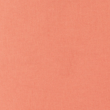 Robert Kaufman Kona Cotton K001-1483 Salmon