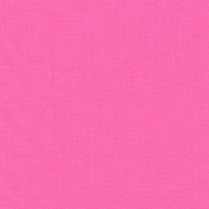 Kona Sassy Pink, Solid Fabric, Robert Kaufman, [variant_title] - Mad About Patchwork