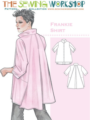 Frankie Shirt from The Sewing Workshop Pattern Collection, Pattern Book, The Sewing Workshop, [variant_title] - Mad About Patchwork