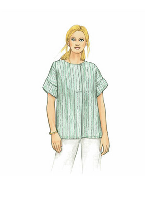 Hugo Top from The Sewing Workshop Pattern Collection, Pattern Book, The Sewing Workshop, [variant_title] - Mad About Patchwork