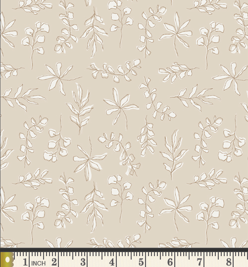 Soften the Volume - Sunbleached Leaves from Art Gallery, Designer Fabric, Art Gallery Fabrics, [variant_title] - Mad About Patchwork
