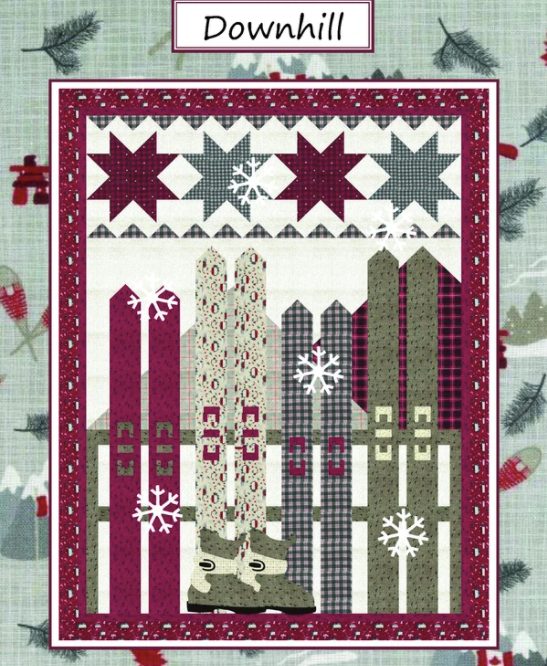 Downhill by Coach House Designs, Pattern, Coach House Desings, [variant_title] - Mad About Patchwork