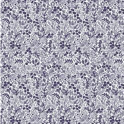 Rifle Paper Co. Basics - Tapestry Lace in Navy, Designer Fabric, Rifle Paper Co., [variant_title] - Mad About Patchwork