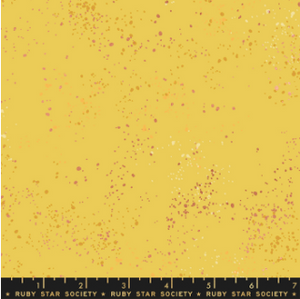 Speckled in Sunshine Metallic by Rashida Coleman-Hale of Ruby Star Society for Moda, Designer Fabric, Ruby Star Society, [variant_title] - Mad About Patchwork