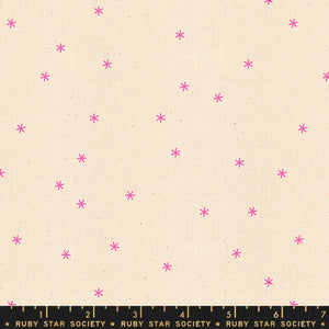 Spark in Neon Pink by Melody Miller, Designer Fabric, Ruby Star Society, [variant_title] - Mad About Patchwork