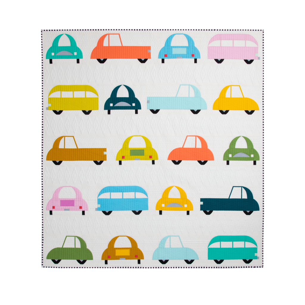 Sew Kind of Wonderful — Wonder Curve - Cool Cars, Pattern, Sew Kind of Wonderful, [variant_title] - Mad About Patchwork
