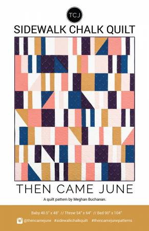 Then Came June — Sidewalk Chalk, Pattern, Then Came June, [variant_title] - Mad About Patchwork