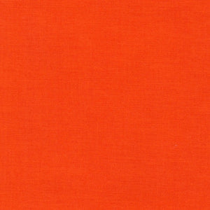 Robert Kaufman Kona Cotton K001-1370 Tangerine