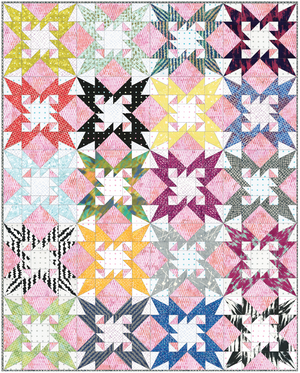 Tooth and Nail Patterns- by Victoria Findlay Wolfe, Pattern, Victoria Findlay Wolfe, [variant_title] - Mad About Patchwork
