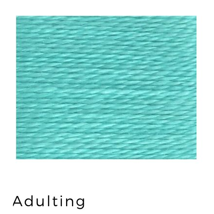 Adulting - Acorn Threads by Trailhead Yarns - 20 yds of 8 weight hand-dyed thread