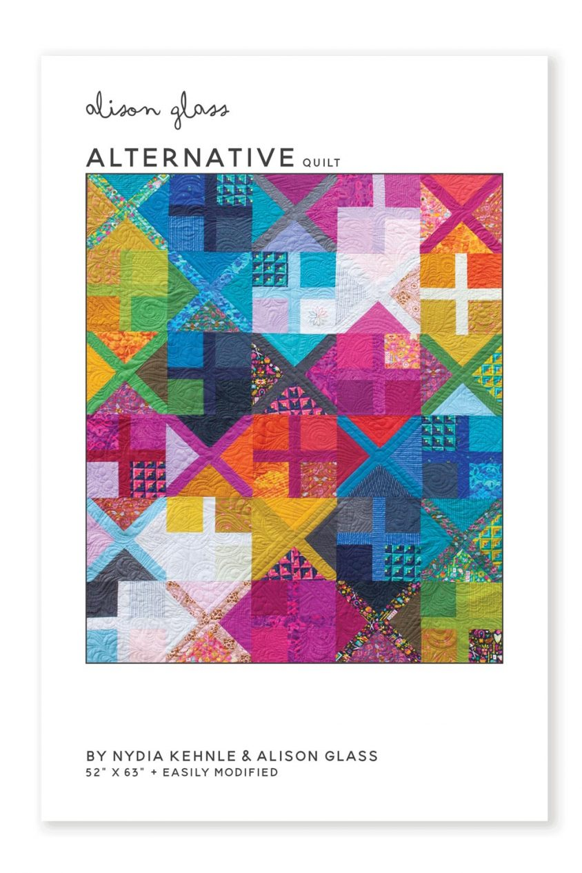 Alternative Quilt Pattern by Nydia Kehnle & Alison Glass, Pattern, Alison Glass, [variant_title] - Mad About Patchwork
