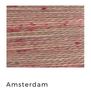 Amsterdam - Acorn Threads by Trailhead Yarns - 20 yds of 8 weight hand-dyed thread