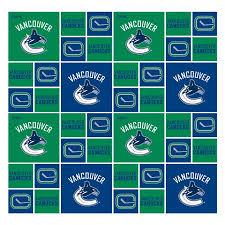 Vancouver Canucks NHL Licenced Fabric, Designer Fabric, Windam, [variant_title] - Mad About Patchwork
