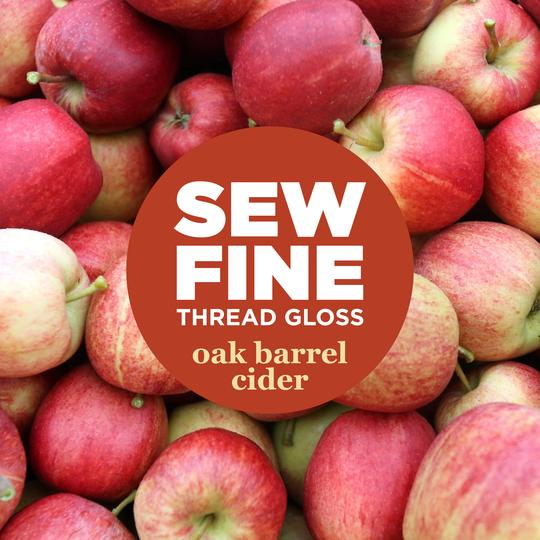 Oak Barrel Cider -  Sew Fine Thread Gloss **Holiday Edition**, Notion, Sew Fine, [variant_title] - Mad About Patchwork