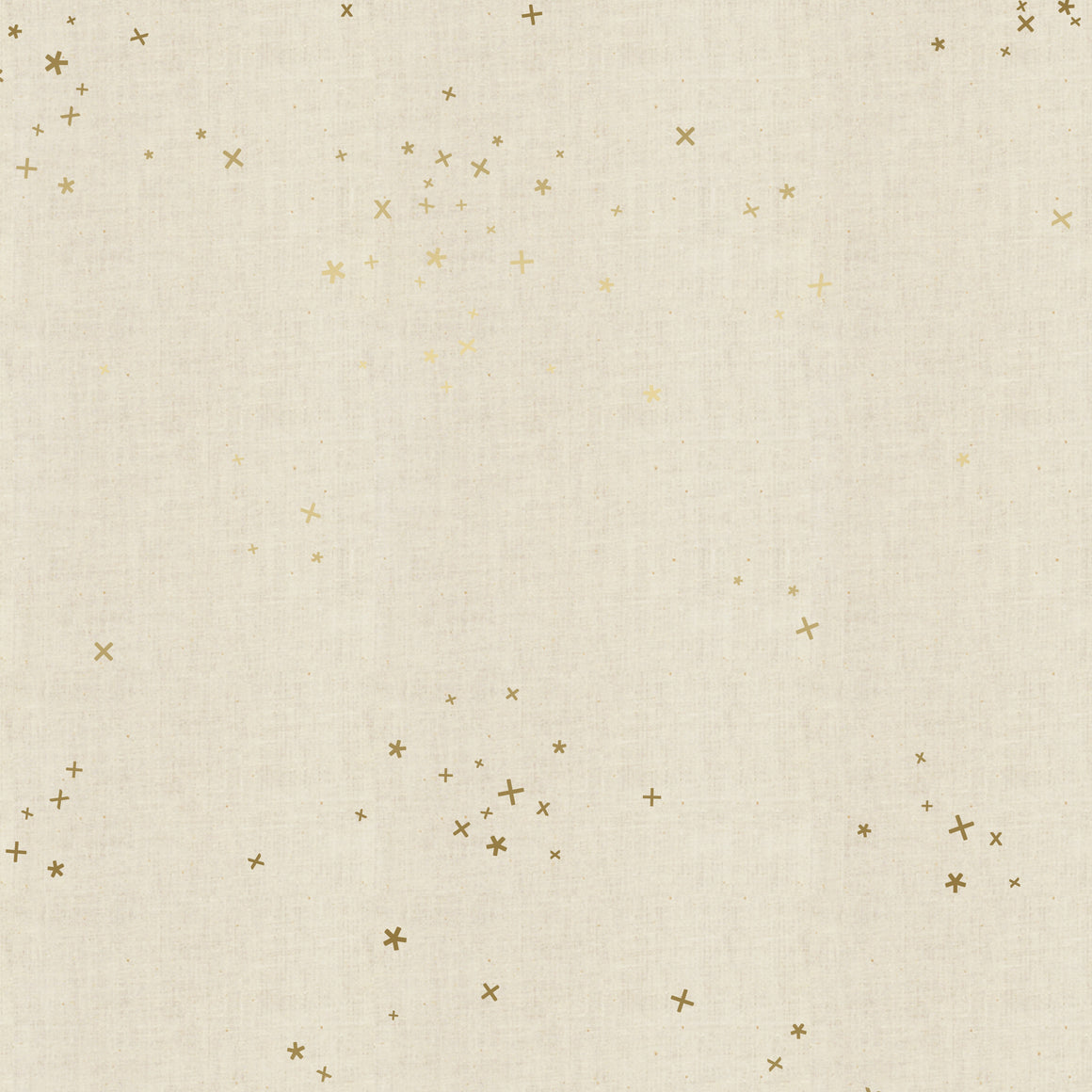 New C+S Basics: Freckles in Unbleached Metallic, Designer Fabric, Cotton + Steel, [variant_title] - Mad About Patchwork