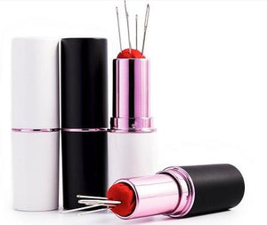 Lipstick Pins and Needle Case