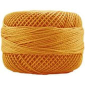 Presencia Perle 12 wt 1068 Medium Golden Brown, Thread, Presencia, [variant_title] - Mad About Patchwork