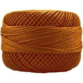 Presencia Perle 12 wt 1072 Dark Golden Brown, Thread, Presencia, [variant_title] - Mad About Patchwork