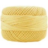 Presencia Perle 12 wt 1137 Pale Yellow, Thread, Presencia, [variant_title] - Mad About Patchwork