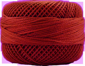 Presencia Perle 12 wt 1163 Bright Orange Red