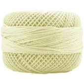 Presencia Perle 12 wt 1214 Light Yellow, Thread, Presencia, [variant_title] - Mad About Patchwork