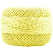 Presencia Perle 12 wt 1220 Lemon, Thread, Presencia, [variant_title] - Mad About Patchwork