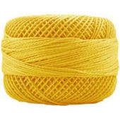 Presencia Perle 12 wt 1227 Medium Gold, Thread, Presencia, [variant_title] - Mad About Patchwork