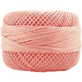 Presencia Perle 12 wt 1307 Light Apricot, Thread, Presencia, [variant_title] - Mad About Patchwork