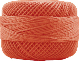 Presencia Perle 12 wt 1314 Apricot, Thread, Presencia, [variant_title] - Mad About Patchwork