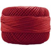 Presencia Perle 12 wt 1490 Dark Coral, Thread, Presencia, [variant_title] - Mad About Patchwork