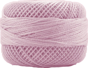 Presencia Perle 12 wt 1724 Light Pale Geranium, Thread, Presencia, [variant_title] - Mad About Patchwork