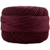 Presencia Perle 12 wt 1915 Dark Cranberry, Thread, Presencia, [variant_title] - Mad About Patchwork