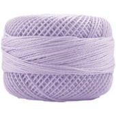 Presencia Perle 12 wt 2606 Light Violet, Thread, Presencia, [variant_title] - Mad About Patchwork