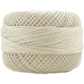 Presencia Perle 12 wt 3000 Cream, Thread, Presencia, [variant_title] - Mad About Patchwork