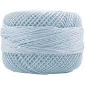 Presencia Perle 12 wt 3299 Very Light Blue, Thread, Presencia, [variant_title] - Mad About Patchwork