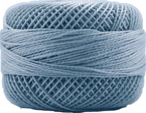 Presencia Perle 12 wt 3305 Pale Delft Blue, Thread, Presencia, [variant_title] - Mad About Patchwork