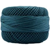 Presencia Perle 12 wt 3574 Dark Turquoise, Thread, Presencia, [variant_title] - Mad About Patchwork