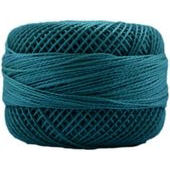 Presencia Perle 12 wt 3664 Medium Teal Green, Thread, Presencia, [variant_title] - Mad About Patchwork