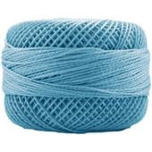 Presencia Perle 12 wt 3810 Medium Electric Blue, Thread, Presencia, [variant_title] - Mad About Patchwork