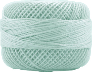 Presencia Perle 12 wt 4048 Light Sea Green, Thread, Presencia, [variant_title] - Mad About Patchwork