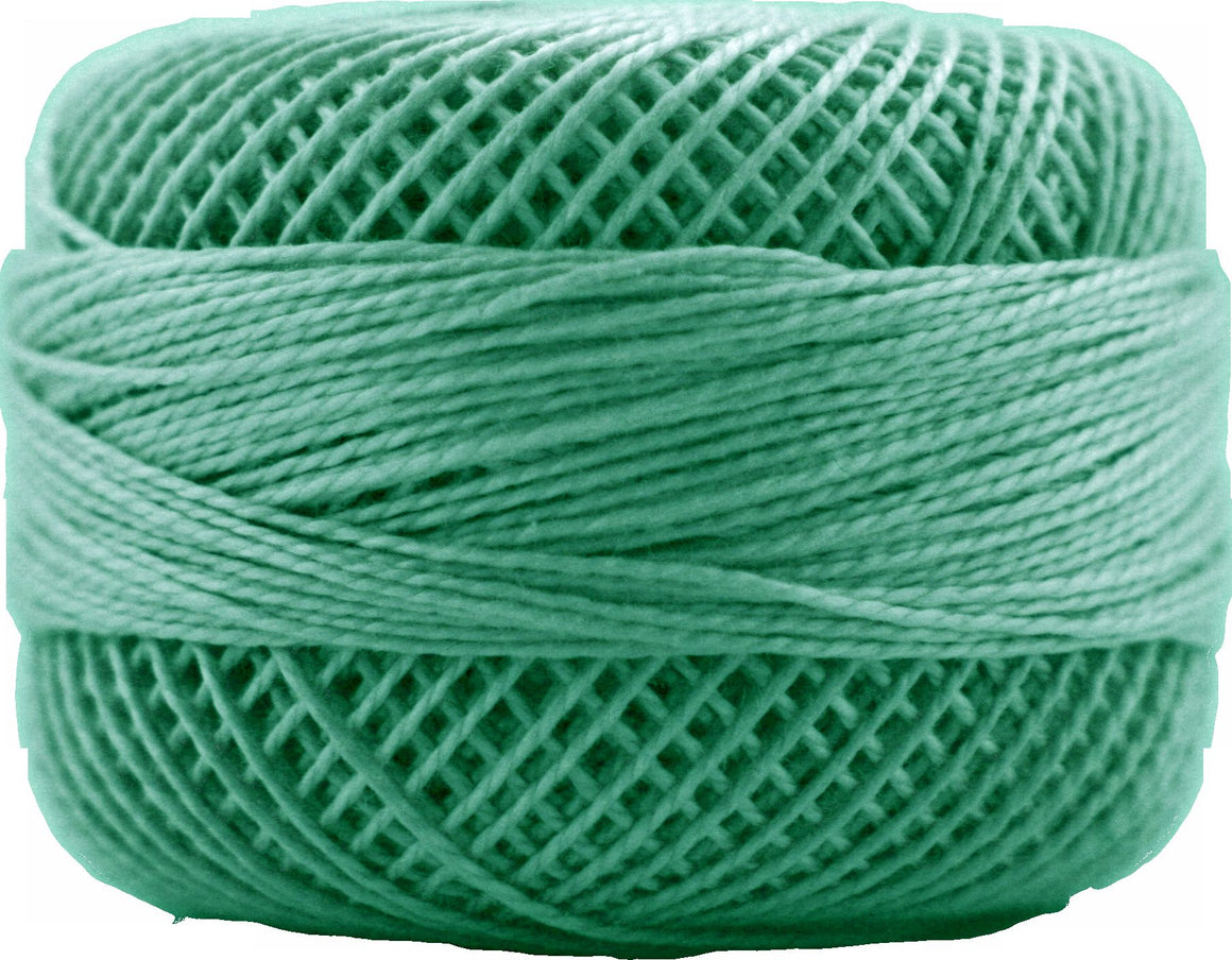 Presencia Perle 12 wt 4350 Emerald Green, Thread, Presencia, [variant_title] - Mad About Patchwork