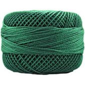 Presencia Perle 12 wt 4368 Dark Emerald Green, Thread, Presencia, [variant_title] - Mad About Patchwork