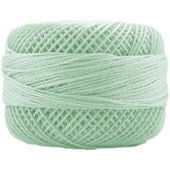Presencia Perle 12 wt 4379 Light Nile Green, Thread, Presencia, [variant_title] - Mad About Patchwork