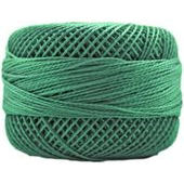 Presencia Perle 12 wt 4396 Dark Nile Green, Thread, Presencia, [variant_title] - Mad About Patchwork