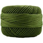 Presencia Perle 12 wt 4561 Light Avocado Green, Thread, Presencia, [variant_title] - Mad About Patchwork