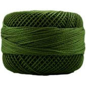 Presencia Perle 12 wt 4565 Avocado Green, Thread, Presencia, [variant_title] - Mad About Patchwork