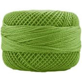 Presencia Perle 12 wt 4636 Chartreuse, Thread, Presencia, [variant_title] - Mad About Patchwork