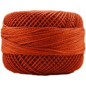 Presencia Perle 12 wt 7567 Medium Orange Spice, Thread, Presencia, [variant_title] - Mad About Patchwork