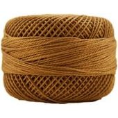 Presencia Perle 12 wt 7731 Golden Brown, Thread, Presencia, [variant_title] - Mad About Patchwork